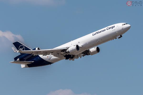欧州去る「三発ジェット貨物機」の貴重な機内とは? ルフトハンザ「MD-11F」最終運航で公開