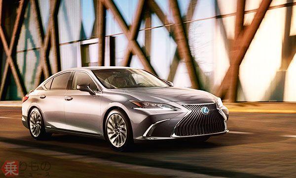 新型「ES」北京モーターショーで世界初披露 「上質な快適性」進化 レクサス