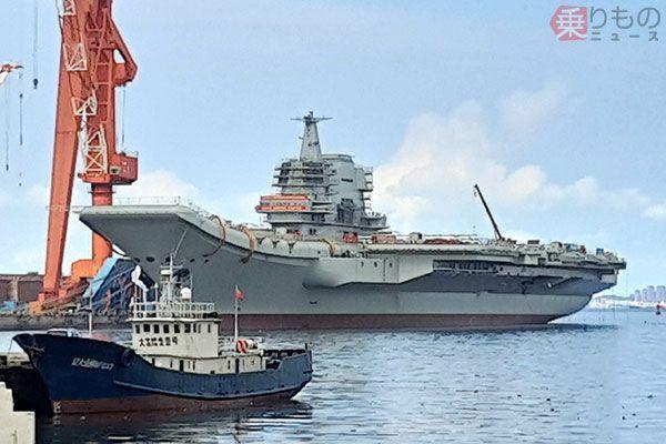 中国初国産空母はどんなフネ? 名前もまだない新型艦の特徴、役割、影響とは