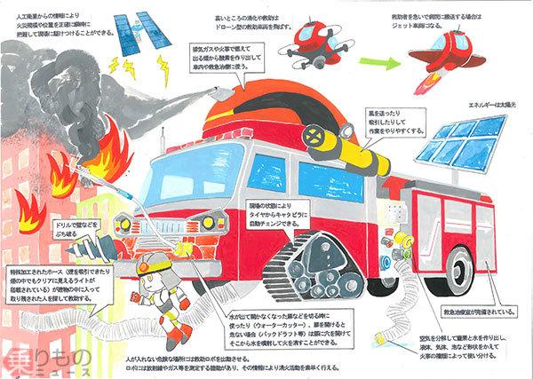 空気から水を生成 「未来の消防車アイデアコンテスト」最優秀作品を表彰 モリタHD