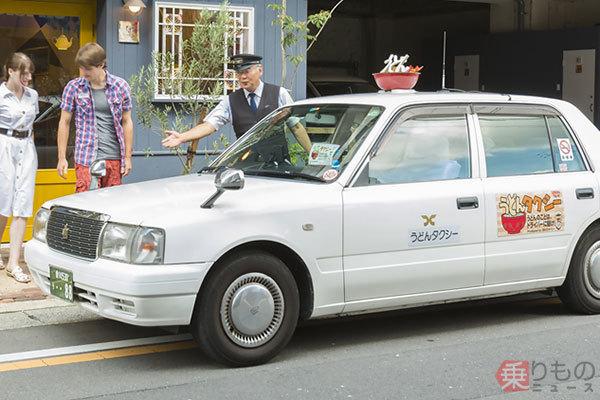 タクシーの行灯が寿司、うどん、カステラ!? 全国協会も設立「ご当地タクシー」の戦略(写真13枚)