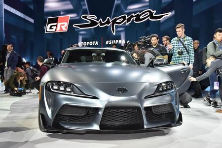 トヨタ、新型「スープラ」公開=北米自動車ショー開幕