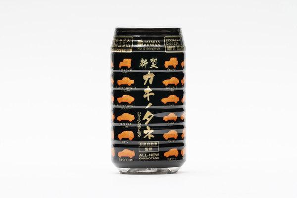 日産が「新型カキノタネ」製作 加工技術を駆使し歴代23車種を柿の種で表現