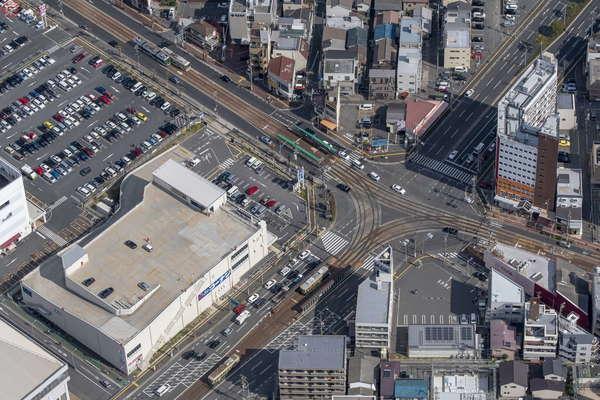【空から撮った鉄道】日本最大級の規模の路面電車 広島電鉄 変わりゆく前にいまの姿を撮る