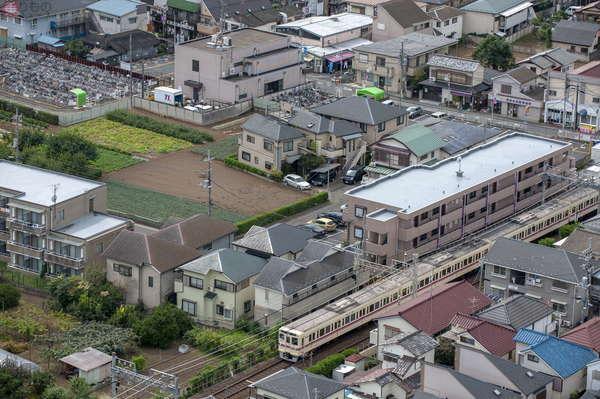 【空から撮った鉄道】ちょっと前に撮影した大手私鉄、京王電鉄 その10年前の光景