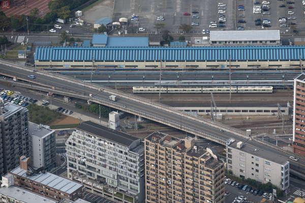 【空から撮った鉄道】ちょっと前の大手私鉄 懐かしの「小田急顔」と「ロマンスカー」