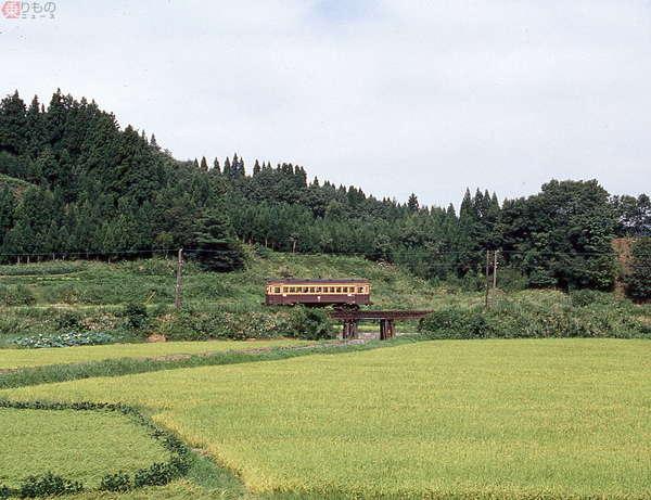 【鉄道のある風景今昔】蒲原鉄道閑散区間をゆく 想い出の駅はいま