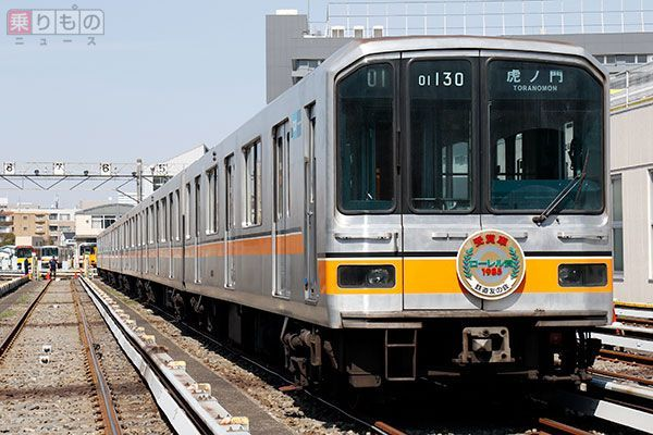 銀色の銀座線」01系ラストラン密着リポート 地下鉄の踏切、途中から ...