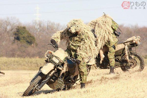 動くモフモフ、陸自の「偽装」技術 ペイントだけではない、戦場での身 ...
