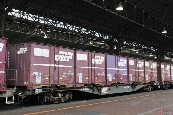 鉄道貨物輸送 実は個人利用できる! 家財道具をコンテナに収納 長距離 ...