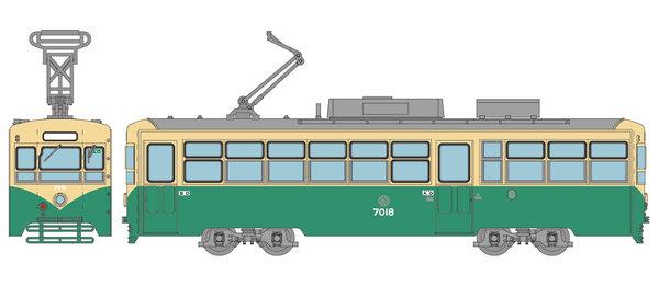 富山地方鉄道デ7000形2種や伊豆箱根鉄道7000系がNゲージ化 トミー ...
