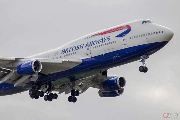 さらば英BA「ジャンボ」B747 ラスト2機の最終フライトは珍しい ...