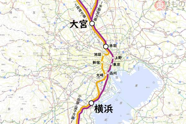 上野 東京 ライン